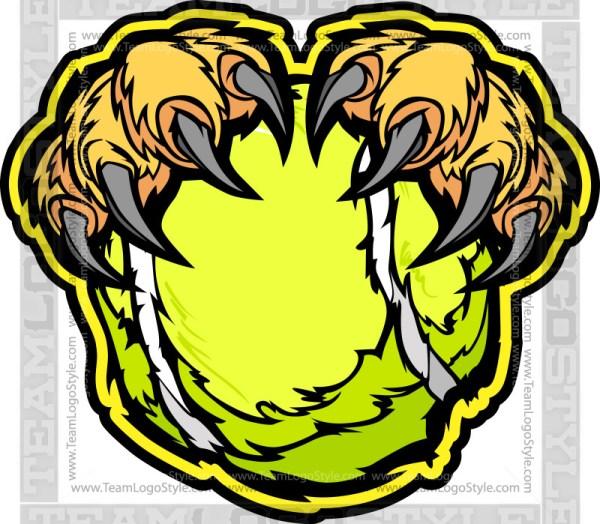 Lion Tennis Clipart
