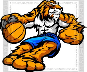 Tiger Basketball Player