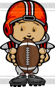 Football Kid Cartoon