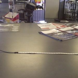 Battery powered LED light