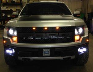 Raptor Front Rigid Lights
