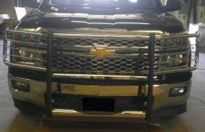 GOIndustries Chrome grill Chevy 2015