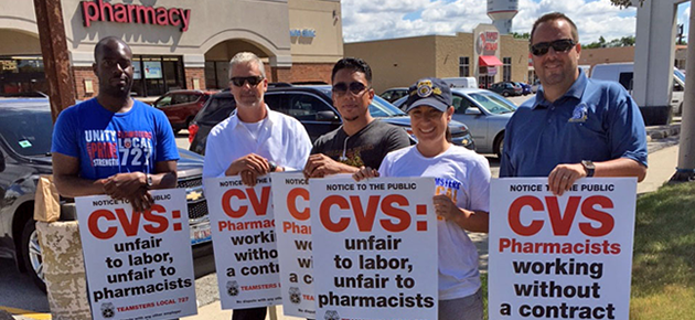 With CVS Negotiations Set to Resume July 20, Local 727 Participates in Informational Picket