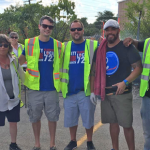 Local 727 Wraps Up Summer of Paratransit Member Appreciation Cookouts
