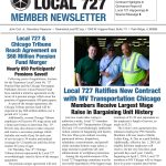 Read the Teamsters Local 727 Fall 2018 Member Newsletter Now!