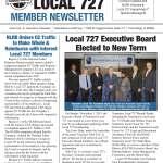 Read the Local 727 Fall 2019 Member Newsletter Now!