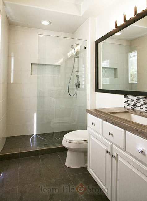 Tile Tub Shower Las Vegas Bathroom Remodel Masterbath Renovations Walk-in