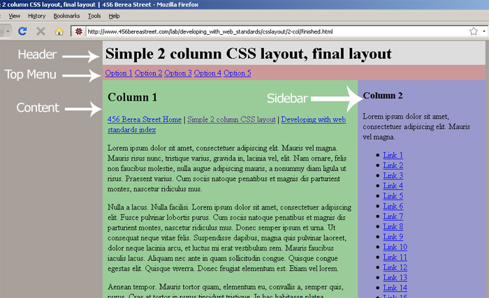 Simple PHP Website Templates - php templates
