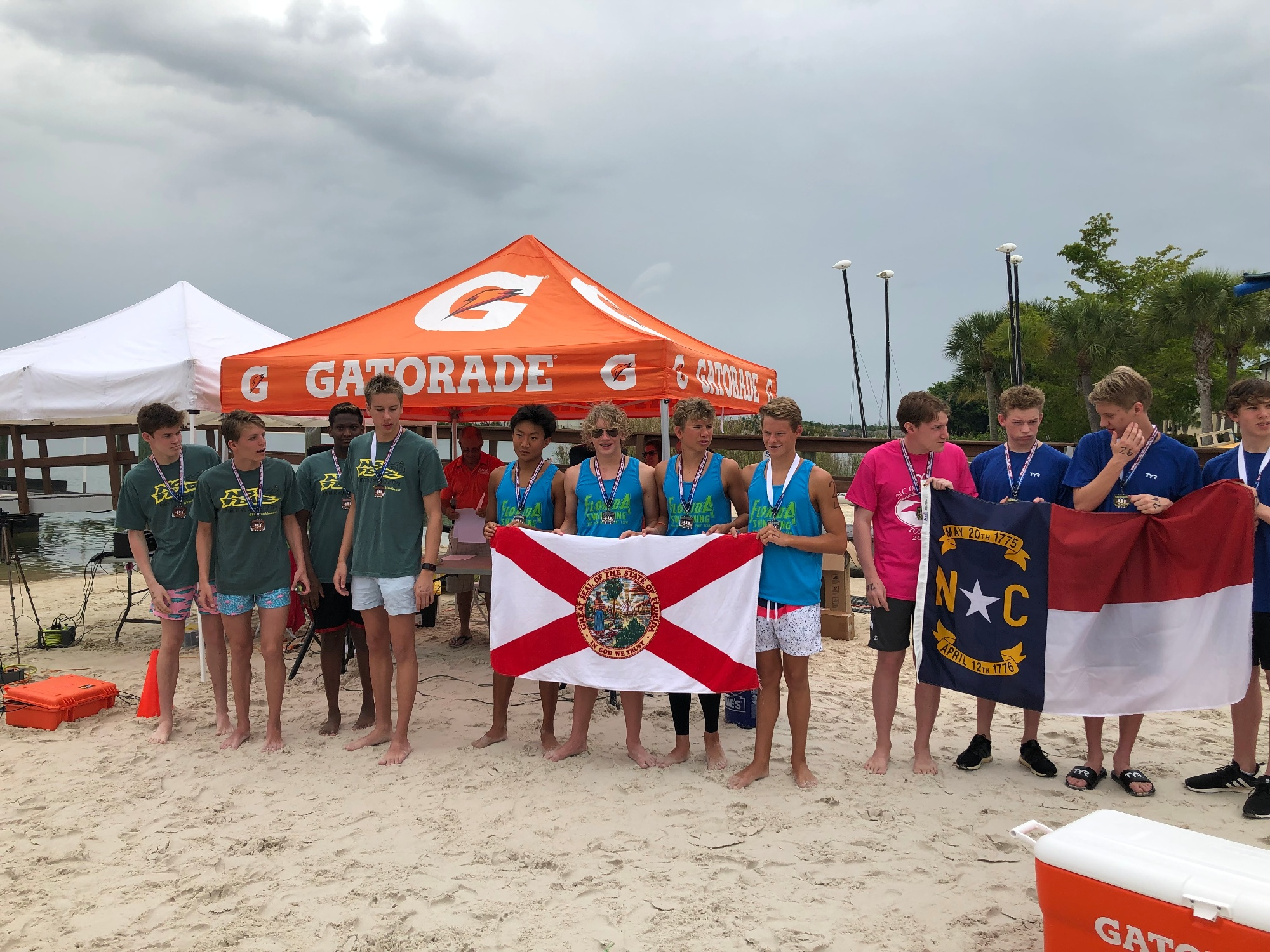 Sz Photo 2019 Florida Open Water Zone Team Won Their 2nd Sz Ow Champs Title