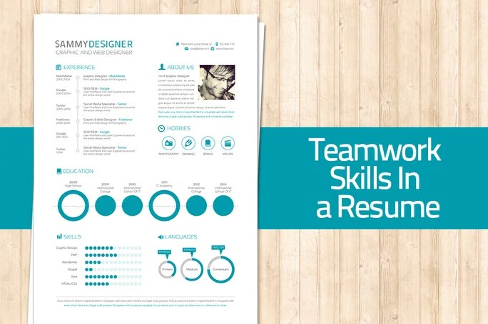How To Mention Teamwork And Skills in a Resume - resume skills