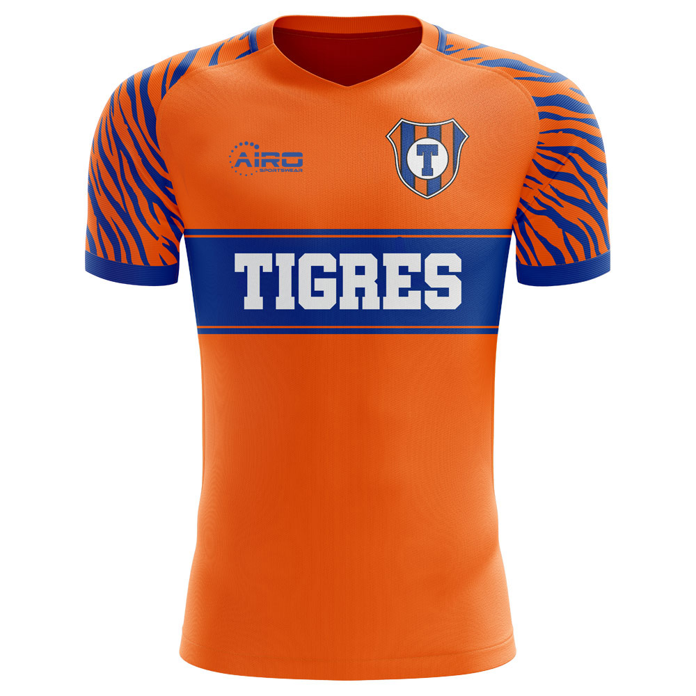 Tigres Tigres 2019 2020 Home Concept Shirt Tigresh 78 19 Teamzo