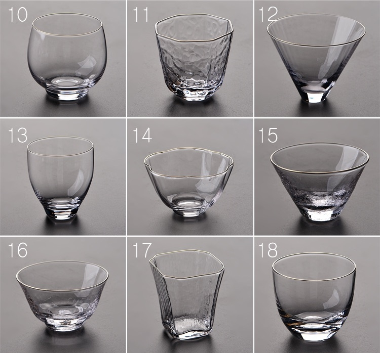 Glas Tassen Buy Crumpled Glass Cups - Small Glass Tea Tasting Cup