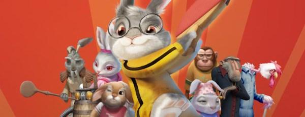 Ping Pong Rabbit Animated movie - Rabbit vs Monkey