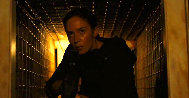 Emily Blunt stars as a cop embroiled in the drug war in Sicario