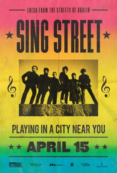 Sing Street New Poster