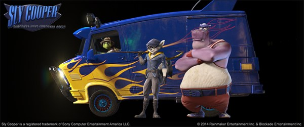 Sly Cooper Movie - Characters