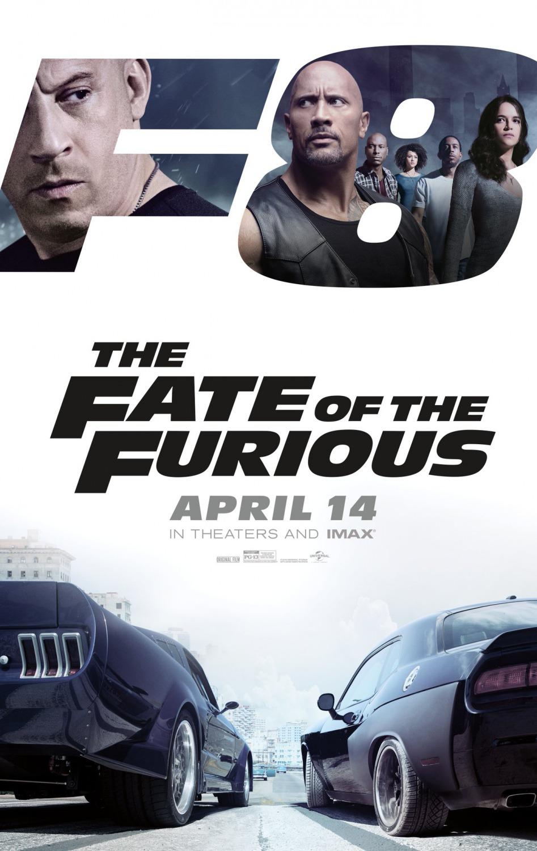Fate Furious Movie Poster Ssl Fast Delapan Teaser Trailer