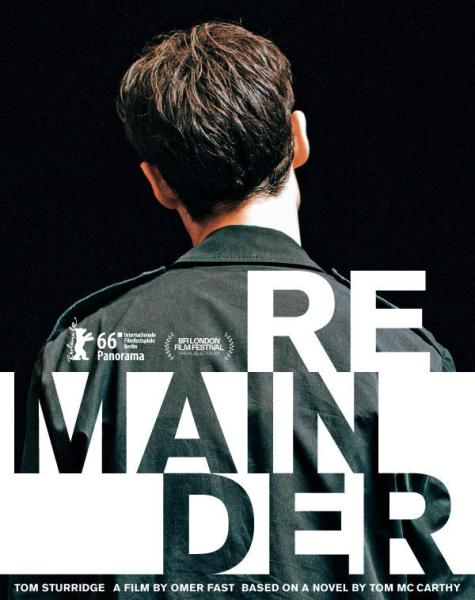 Remainder movie poster