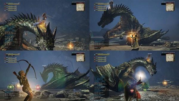 マルチプレイ ドラゴンズドグマオンライン DDON