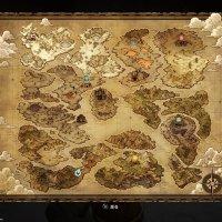 世界地図 ドラゴンクエストビルダーズ DQB