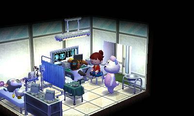 病院 診察室 どうぶつの森ハッピーホームデザイナー