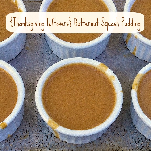 Thanksgiving Leftovers Butternut Squash Pudding | Teaspoonofspice.com