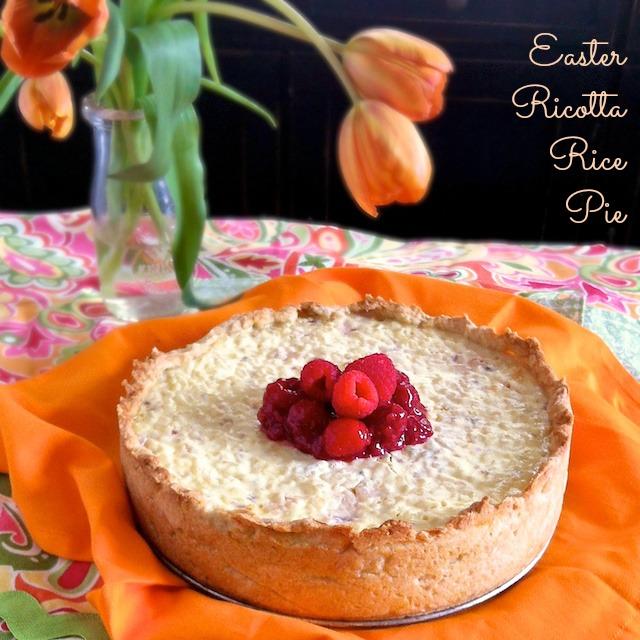 Easter Ricotta Rice Pie | Teaspoonofspice.com
