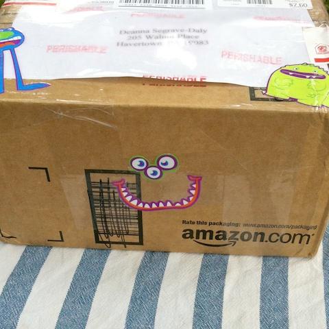 June Foodie Penpals package