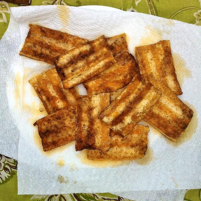 Grilled Tofu BLT Sammies | TeaspoonofSpice.com