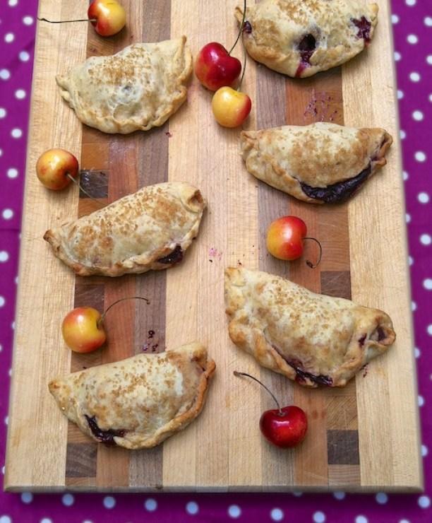 Cherry Hand Pies | Teaspoonofspice.com