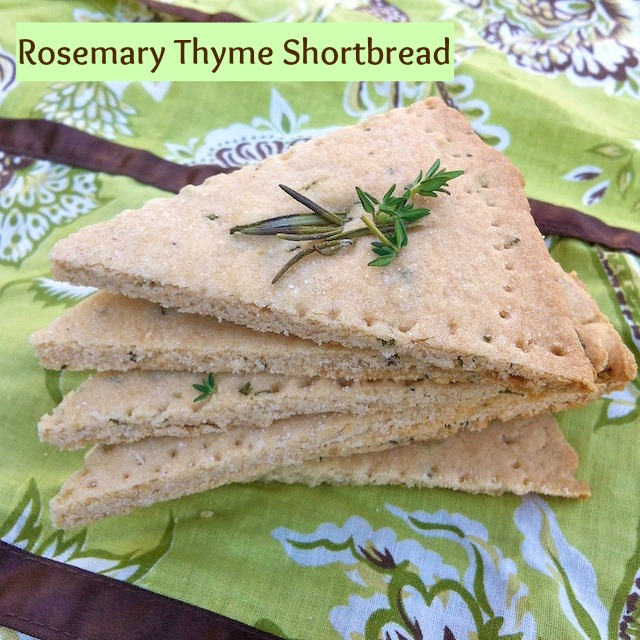 Rosemary Thyme Shortbread pin