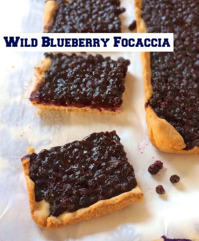 Wild Blueberry Focaccia | Teaspoonofspice.com