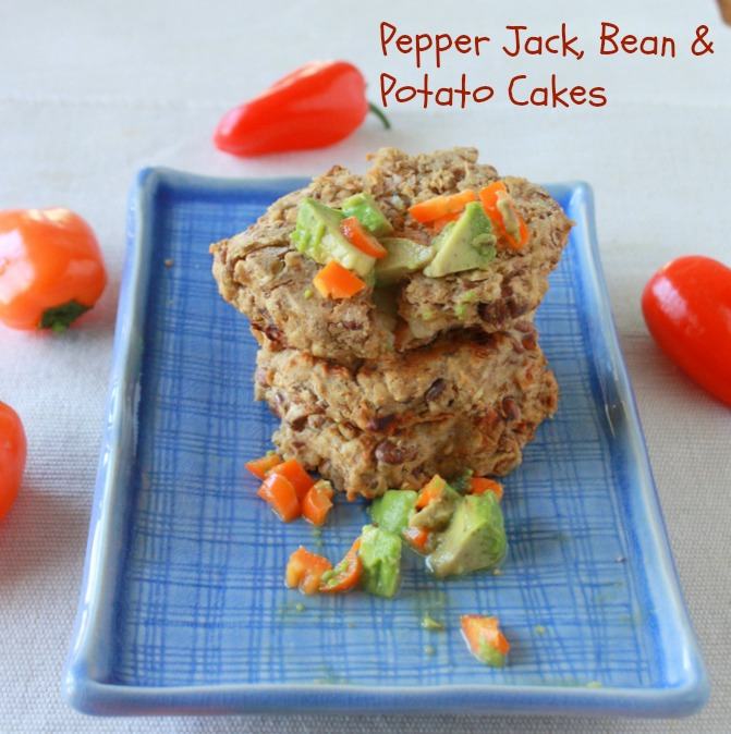 Pepper Jack, Bean & Potato Cakes2
