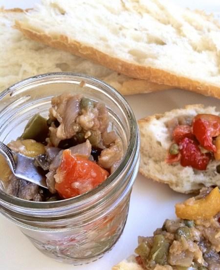 Eggplant Caponata or Sicilian Relish for The Recipe ReDux
