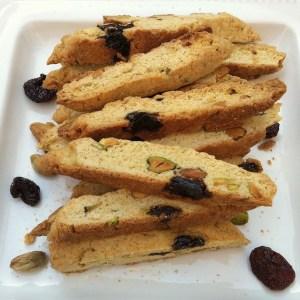 Holiday Pistachio Cherry Biscotti | The Recipe ReDux