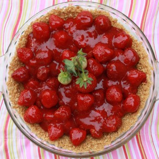 Fresh Strawberry Glace Pie | Teaspoon Of Spice