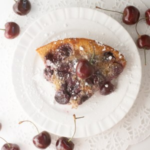Cherry Clafoutis with Lime – Easy To Make French Dessert