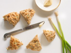 Spring Onion and Parmesan Whole Wheat Scones | Food Network's Healthy Eats