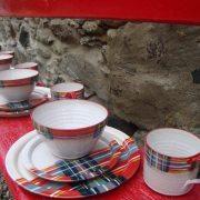 Tartan Wedding Dinner Set