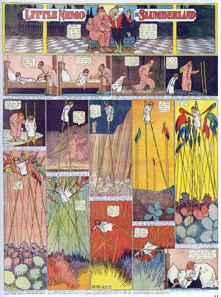 Viajar A China Por Libre Little Nemo In Slumberland, De Winsor Mccay