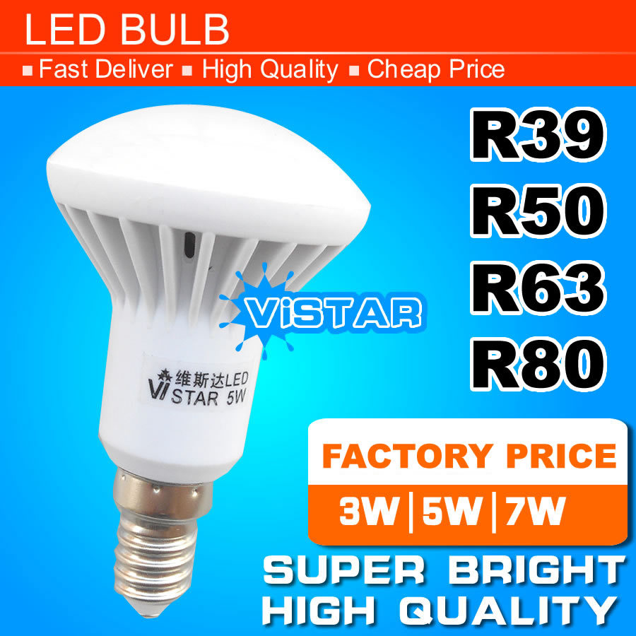 Led E 14 R39 R50 R63 Led Lamp E14 E27 Base Led Bulb 3w 5w 7w 9w Led