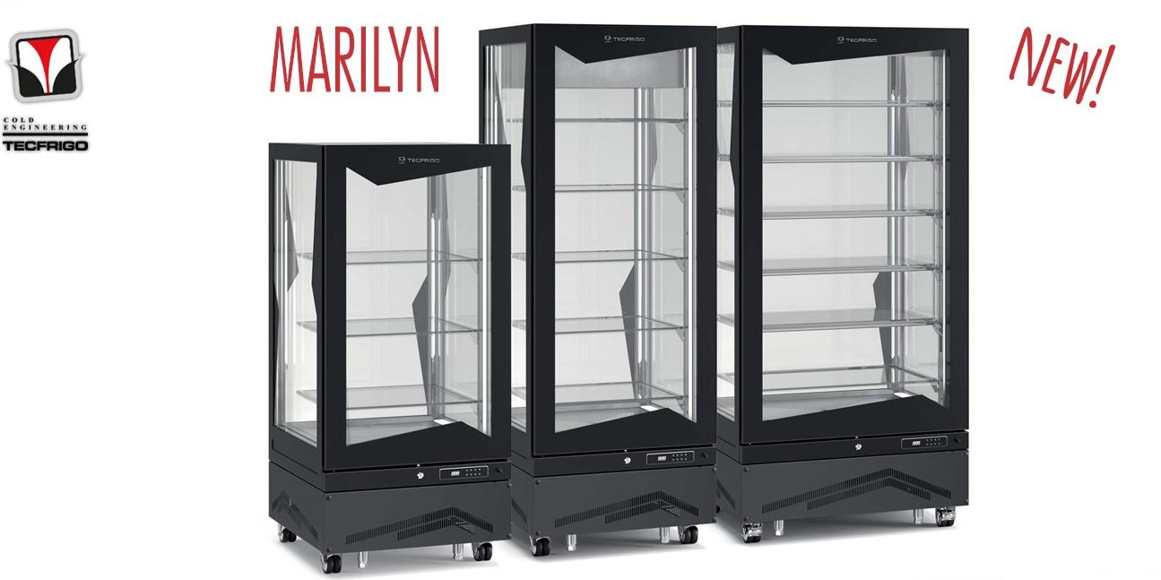 Vetrine Frigorifere Marilyn New Revolutionary Tecfrigo Upright Display Tecfrigo