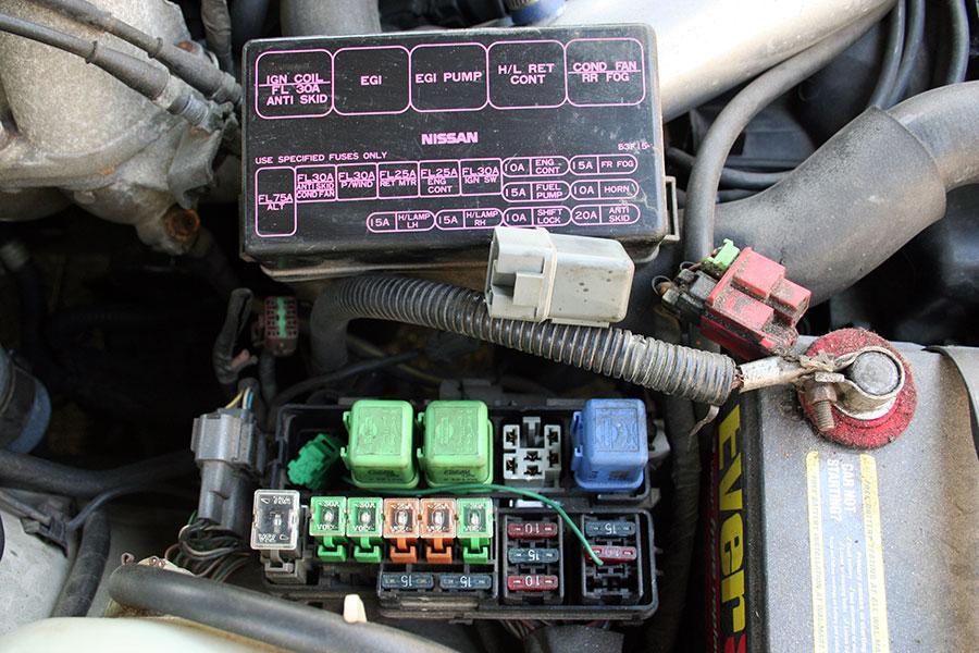 89 240sx fuse box