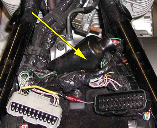 VTX 1800 Accessory Power Lead « Bareass Choppers Motorcycle Tech Pages