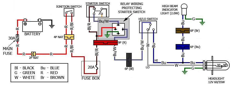 Starting Honda Vtx 1800 Diagram Wiring Schematic Diagram