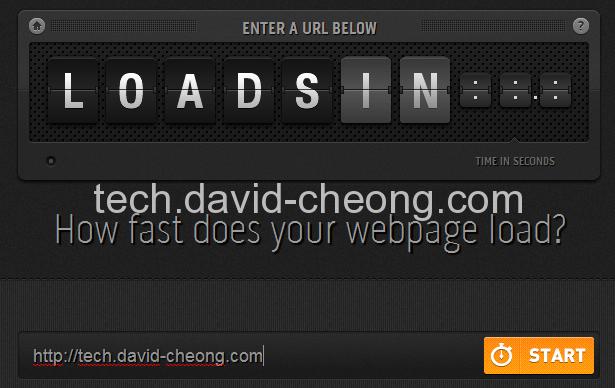 Loadsin home page