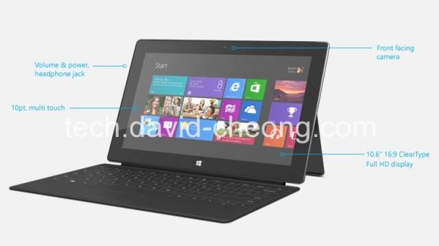 Surface Pro Spec