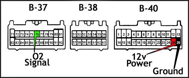 2g eclipse o2 sensor wire diagram