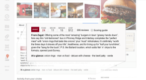 Google Adds Zagat Reviews to Google Plus