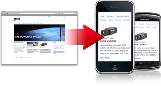 mobileImage1 20 sites to create/optimize website for mobile phone users